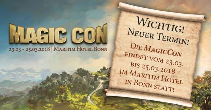 Die MagicCon 2018 der FedCon GmbH hat einen neuen Termin bekommen. Bild: FedCon GmbH